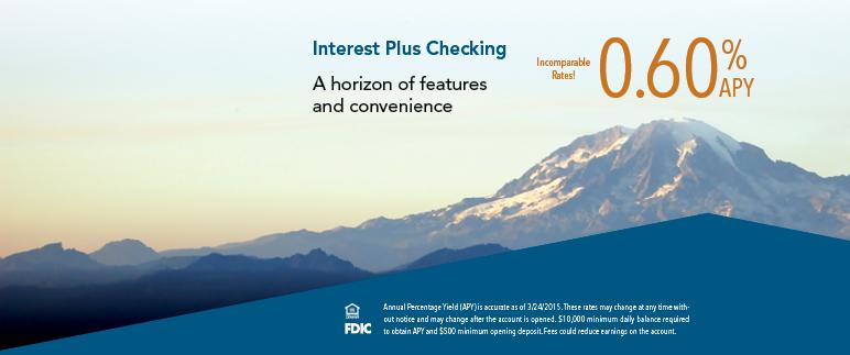 Interest Plus Checking