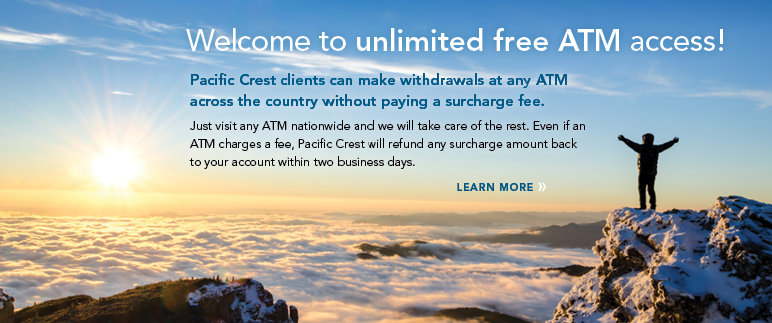 Welcome to unlimited free ATM access